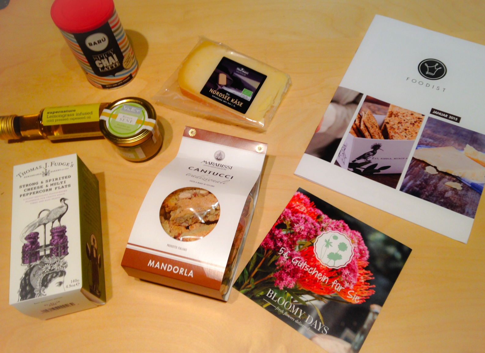 foodist box Januar 2015