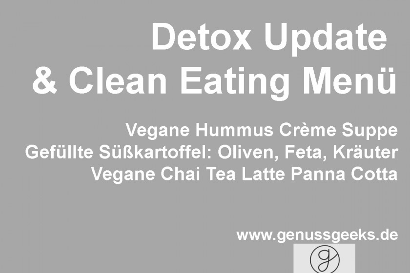 Detox Clean Eating Menü