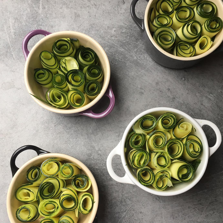 zucchini omlette
